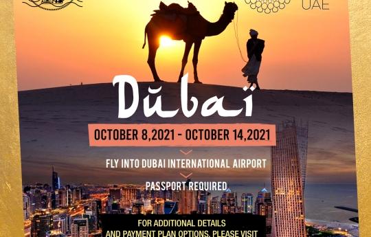 Dubai World Expo 2021!