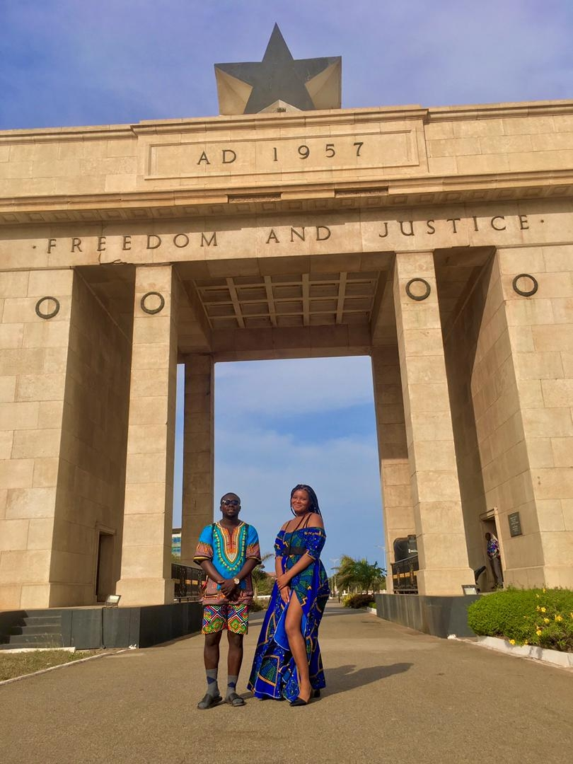 independance arch Accra