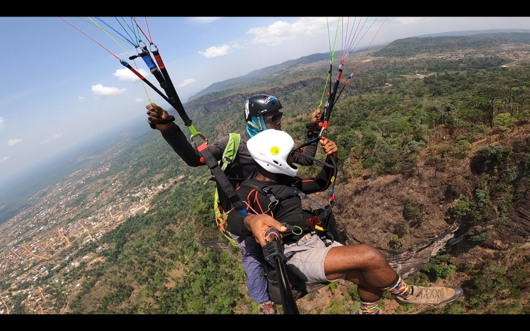 paragliding, Ghana,