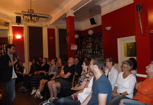 Stand up comedy at the London authentic, award-winning, modern Mediterranean restaurant