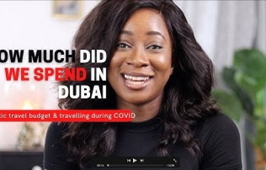 How much does it Cost to Travel to DUBAI | Travel Tips for SAVING MONEY 💰| Travelling During COVID
