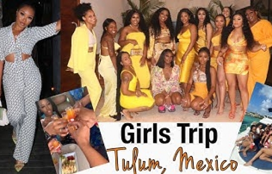 Girls Trip 2021: Tulum, Mexico 🇲🇽 House Tour, Yacht, Day Parties & MORE