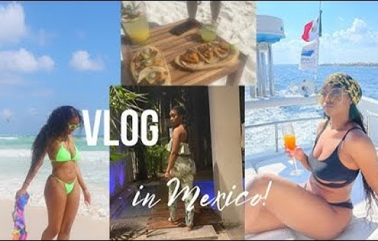 TULUM,MEXICO TRAVEL VLOG 2021| PANDEMIC VACATION VLOG