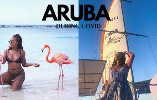 TRAVELING TO ARUBA 2021 DURING COVID |TRAVEL VLOG|Testing, Flamingo Island, Submarine, Sunset Cruise