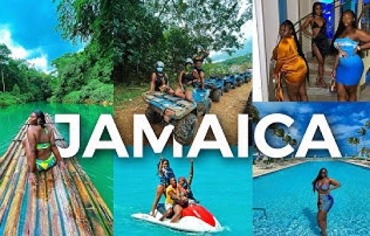 JAMAICA VLOG - ULTIMATE 2021 GIRLS TRIP! | TRAVEL VLOG | AMINACOCOA