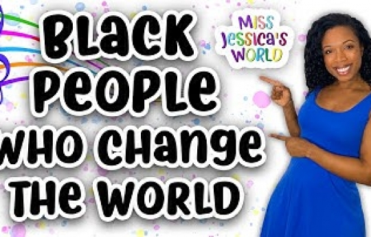 Best Black History Month Song! | Celebrate Black People Who Change the World | Miss Jessica's World