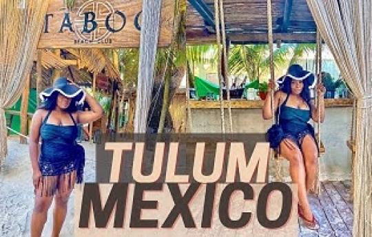 TULUM, MEXICO TRAVEL VLOG | TABOO BEACH CLUB