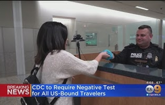 Traveling Overseas? You'll Need A Negative COVID-19 Test To Return To US