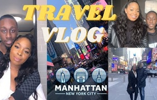 Couple Travel Vlog 2021 | New York and Amsterdam! | Baecation... BORIS NEEDS TO OPEN THE BORDER!! 😂😂