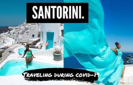 Santorini Greece Travel Vlog - Hotels, prices, things to do | Traveling during Coronavirus