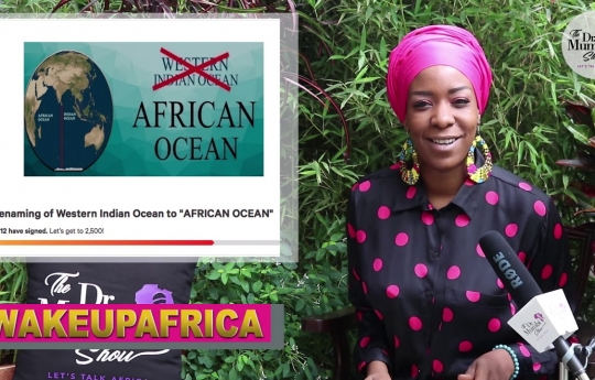 """YESS! Africa MOVES to Rename """"Indian Ocean"""" To """"African Ocean""""! Petition Launched!"""
