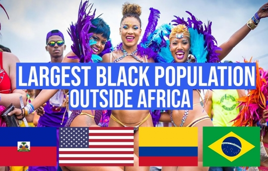 7 Countries with the LARGEST African Populations Outside Africa