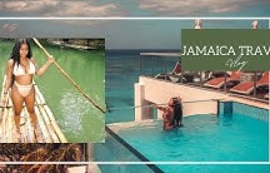 WEEKEND STAYCATION IN MONTEGO BAY | JAMAICA TRAVEL VLOG (2021) | CHANEL EMM
