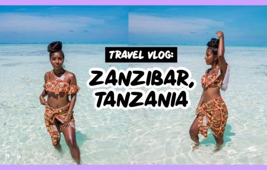 ZANZIBAR, TANZANIA PART 1   TRAVEL VLOG