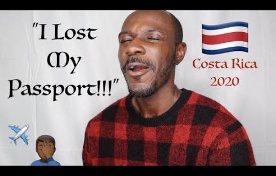 """I LOST MY PASSPORT!!!""   🇨🇷 COSTA RICA 2020 Vlog"