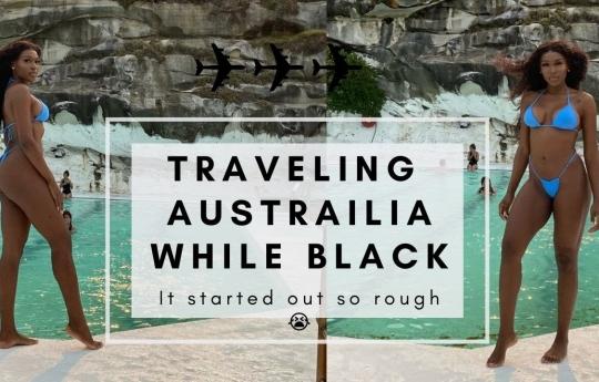 SOLO TRAVELING THROUGH AUSTRALIA WHILE BLACK🤯😫 PT.1