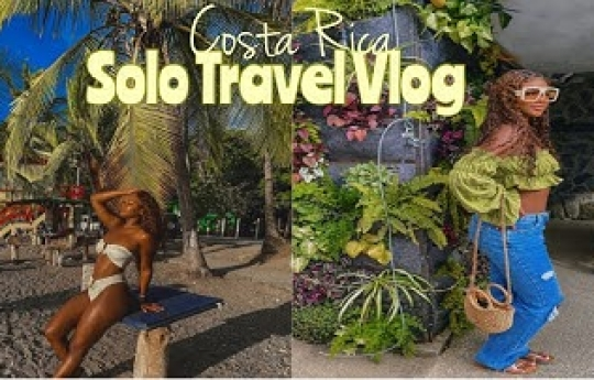 Costa Rica Solo Travel Vlog 2021 | San Jose + Jaco! Nightlife, Nauyaca falls, & much much more!
