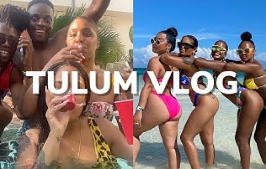 WEEKLY VLOG IN MEXICO, TULUM   VACATION VLOG WITH FRIENDS   Arnellarmon