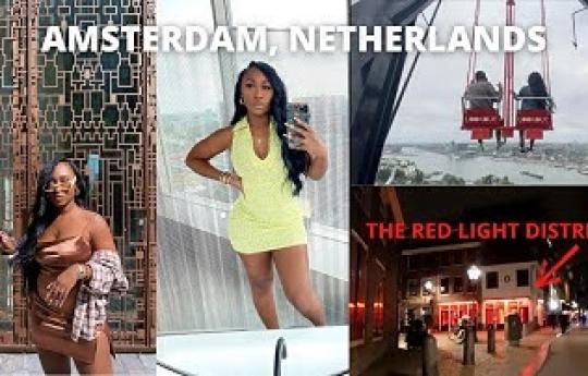 AMSTERDAM TRAVEL VLOG, RED LIGHT DISTRICT, AMUSEMENT ETC.   TRAVEL TO EUROPE