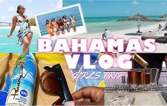 BAHAMAS VLOG 2021   GIRLS TRIP TO NASSAU!   YACHT, PRIVATE VILLA + MORE   STEPHANIE VOLTAIRE