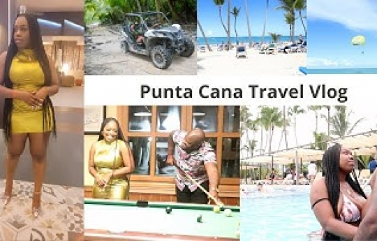 Punta Cana Travel Vlog 2021   Punta Cana Riu Bambu 2021   Baecation 2021