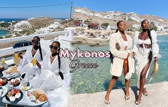 MYKONOS GREECE TRAVEL VLOG 2020 | Living our best lives
