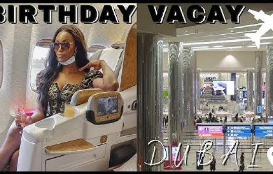DUBAI VLOG 1:Travelling To Dubai For My Birthday!!/Kelechi Mgbemena Vlog/ 06|11/20