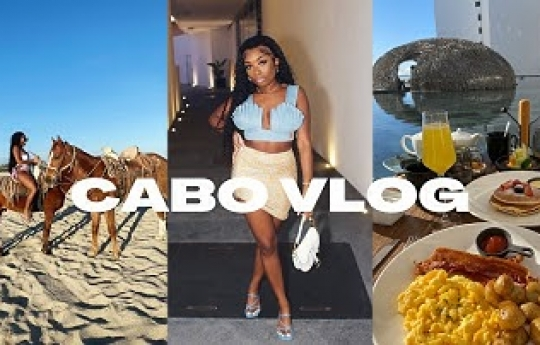 TRAVEL VLOG | V-DAY WEEKEND TRIP TO CABO MEXICO | VICEROY LOS CABOS LUXURY RESORT